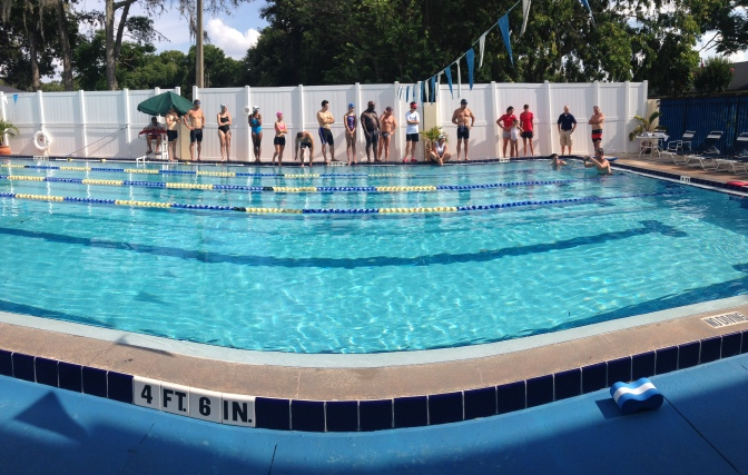 Swim Test – January 7, 2015