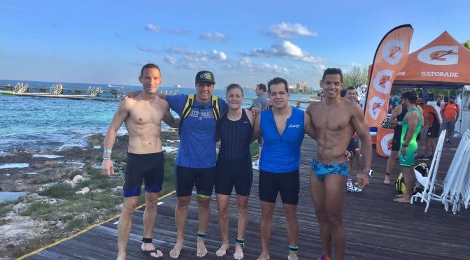 Friday – sprint swim
