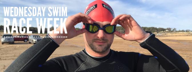 Wednesday swim – Race Week