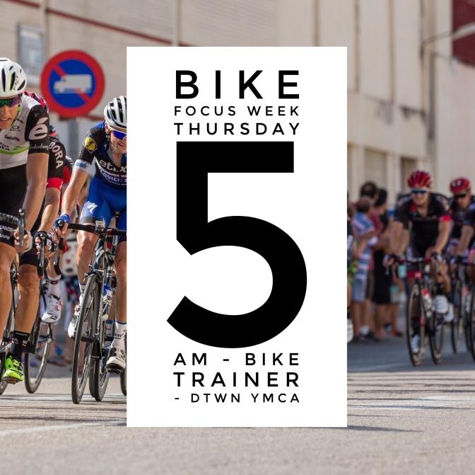 Bike Focus Week – Thursday