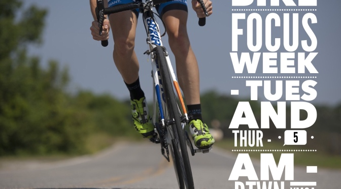 Bike Focus Week 2 – Tuesday & Thursday