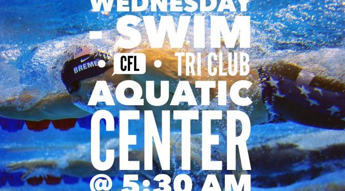 Wednesday – Swim