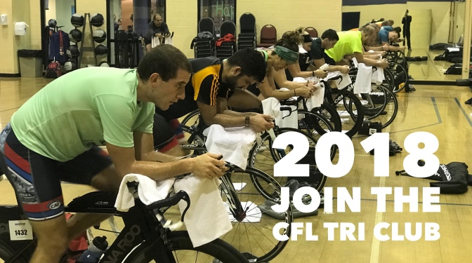 Join the CFL Tri Club in 2018