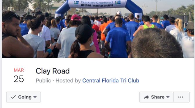 Sunday – Clay Road
