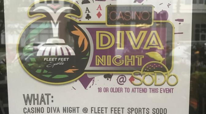 Attention Ladies Casino Diva Night – Fleet Feet Sodo
