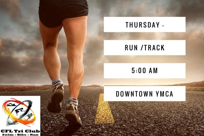 Thursday – Track