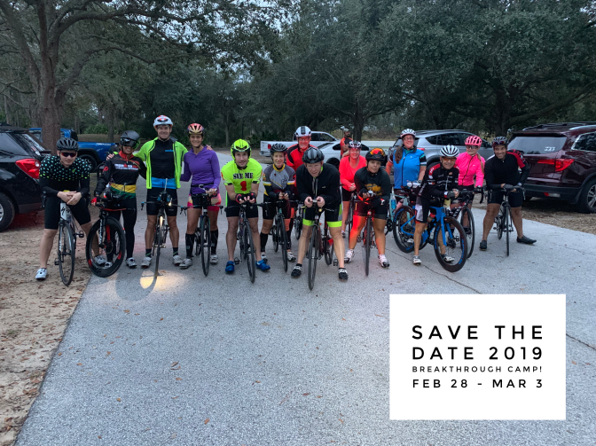 2019 Triathlon Breakthrough Camp – Save The Date