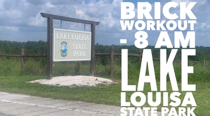Lake Louisa State Park – 8 am