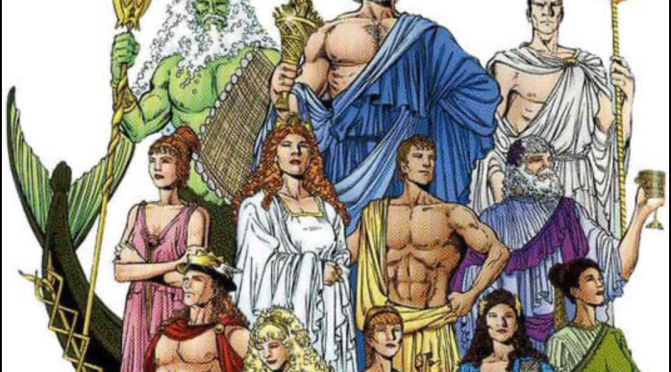 Greek Gods and Goddesses Costume Party
