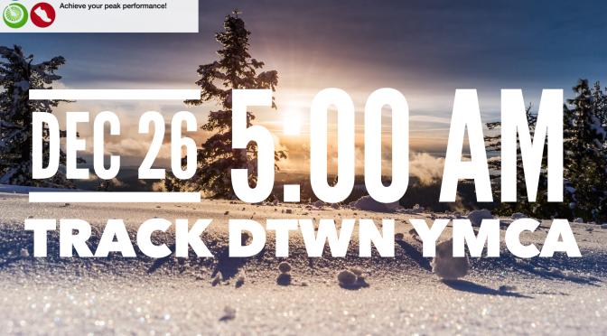 Dec 26 – Thursday / Track