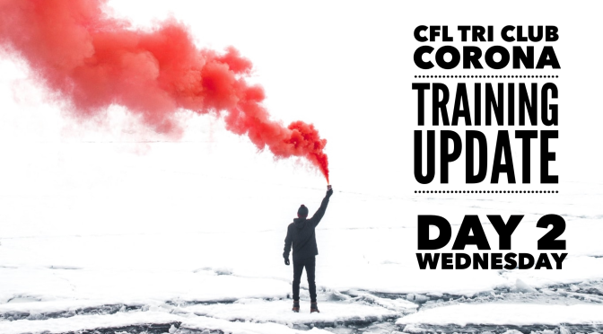 CFL Tri Club – Corona Update – wed Schedule