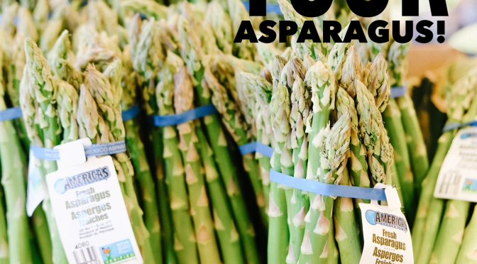 How to store asparagus!