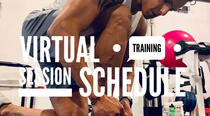 Virtual Training Session Schedule