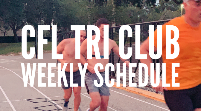 CFL Tri Club – Weekly Update – June 8 – 14, 2020