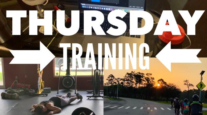 Thursday Training