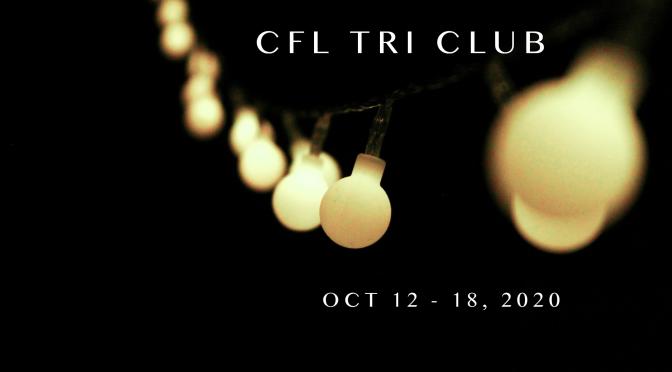 Week of October 12 – 18, 2020