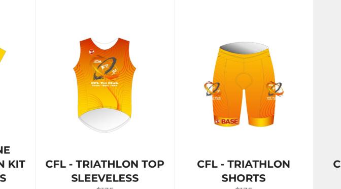 CFL Tri Club Uniforms 2021