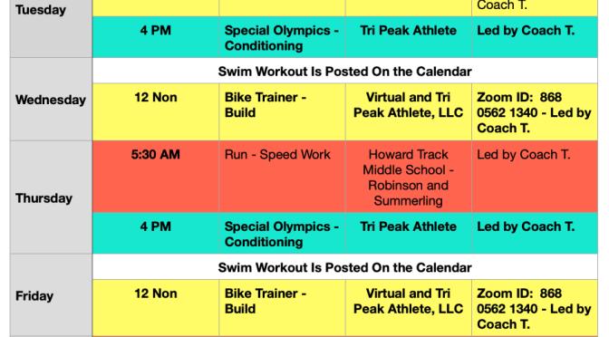 Week of June 28 – July 4, 2021