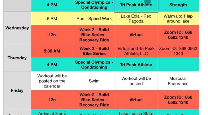 Week of August 23 – 29, 2021