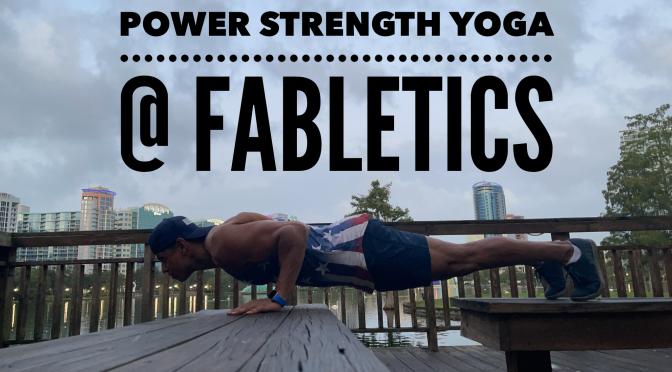 Power Strength Yoga @ Fabletics