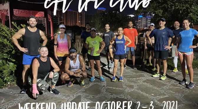 Weekend Update October 2-3, 2021
